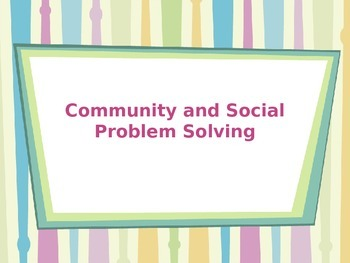 Life Skills Problem Solving for Transitional Students