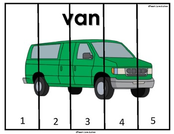 Life Skills Puzzles: Garage Differentiated Set