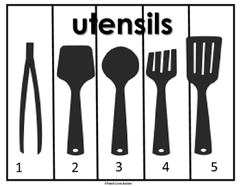 Life Skills Puzzles: Kitchen Differentiated Set