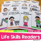 Life Skills Readers | 24 books | 12 B/W 12 Color