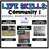 Life Skills Readers (Real Photographs) - Community Situations 1