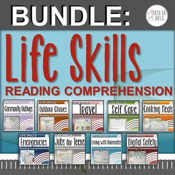 Life Skills Reading Comprehension Bundle