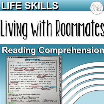 Life Skills Reading Comprehension Roommate