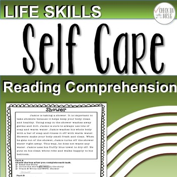 Life Skills Reading Comprehension Self Care