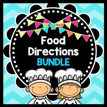 Life Skills Reading: Cooking and Food Prep Directions, BUNDLE PACK