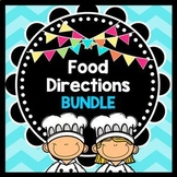 Life Skills - Reading - Cooking - Food Prep Directions - Special Ed - Bundle