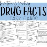Reading Drug Facts/Medicine Labels Task Cards - Functional