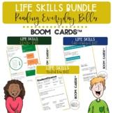 Functional Life Skills BUNDLE Reading Everyday Bills BOOM Cards™