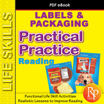 Life Skills Reading: Labels & Packaging Comprehension