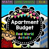 Life Skills Reading + Math: Apartment Budget: Furnishing and Moving Out!