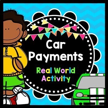 Life Skills Reading + Math: Car Payments and Insurance - M