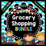 Life Skills Reading, Math, and Grocery Shopping: ULTIMATE BUNDLE
