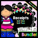 Life Skills - Receipts - Reading - Math - Special Education - Money - BUNDLE