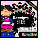 Life Skills - Receipts - Reading - Math - Special Education - Money - BUNDLE