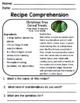 Life Skills Reading: Recipe Comprehension - Christmas / Holiday Edition!
