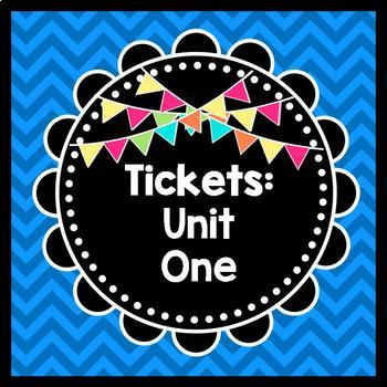 Life Skills Reading: Tickets, Unit 1