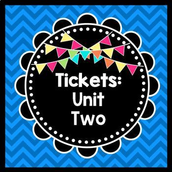 Life Skills Reading: Tickets, Unit 2