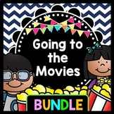 Life Skills Reading, Writing, Money, and Math: Going to the Movie Theater BUNDLE