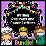 Life Skills Reading, Writing, and Jobs: Resumes and Cover Letters BUNDLE