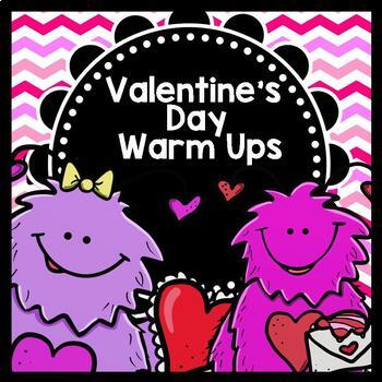 Life Skills Reading, Writing, and Math Warm Ups: Valentine