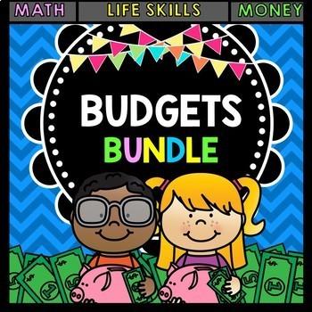 Life Skills Reading and Math: BUDGETS Bundle