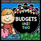 Life Skills - Budgets - Math - Money - Shopping - Dollar Up - Special Education
