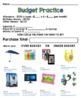 Life Skills - Budgets - Math - Money - Shopping - Dollar Up - Special Education