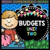 Life Skills - Budgets - Math - Money - Shopping - Dollar U