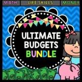 Life Skills Reading and Math: ULTIMATE BUDGETS BUNDLE