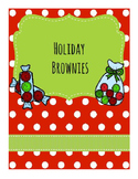 Life Skills Reading and Writing: Christmas + Holiday Recipes, Brownies