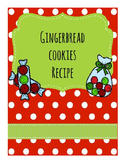 Life Skills Reading and Writing: Christmas + Holiday Recipes, Gingerbread
