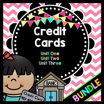 Life Skills Reading and Writing: Credit + Debit Cards ** BUNDLE **