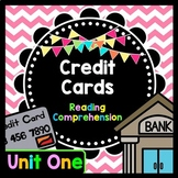 Life Skills Reading and Writing: Credit + Debit Cards - Unit 1