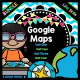 Life Skills Reading and Writing: Google Maps BUNDLE PACK