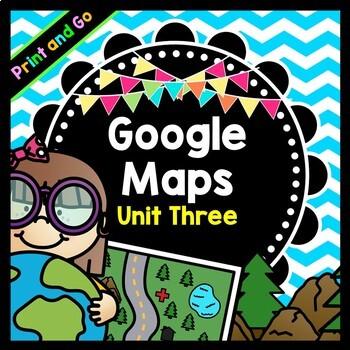 Life Skills Reading and Writing: Google Maps Scavenger Hunt, Unit 3