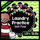 Life Skills Reading and Writing: How to Do Laundry - JEOPARDY