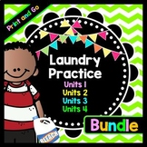 Life Skills Reading and Writing: How to Do Laundry - Ultimate Bundle
