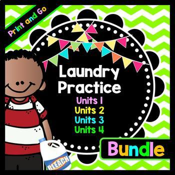 Life Skills Reading and Writing: How to Do Laundry - Ultim