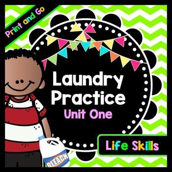 Life Skills Reading and Writing: How to Do Laundry - Vocab