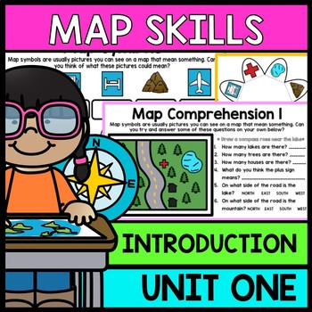 Life Skills Reading and Writing: Map and Geography Skills Unit 1