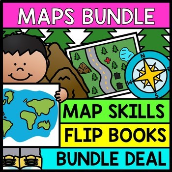 Life Skills Reading and Writing: Maps and Geography *BUNDLE*