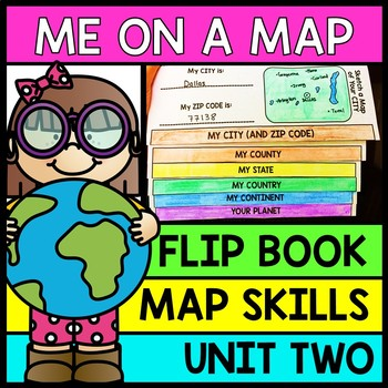 Life Skills Reading and Writing: Me on a Map - INTERACTIVE