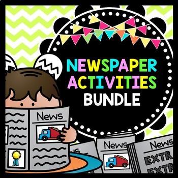 Life Skills Reading and Writing: Newspaper Activities, BUNDLE