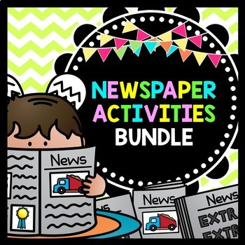 Life Skills Reading and Writing: Newspaper Activities, BUNDLE