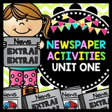 Life Skills Reading and Writing: Newspaper Activities, Unit 1
