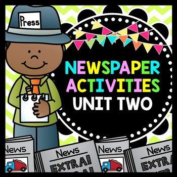 Life Skills Reading and Writing: Newspaper Activities, Unit 2