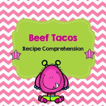 Life Skills Reading and Writing: Recipes - Beef Tacos