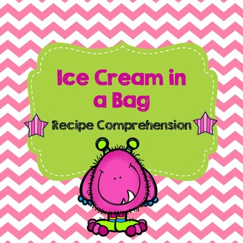 Life Skills Reading and Writing: Recipes - Ice Cream in a Bag