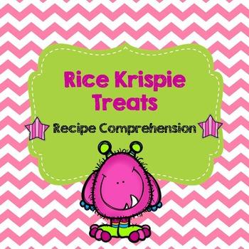 Life Skills Reading and Writing: Recipes - Rice Krispie Treats