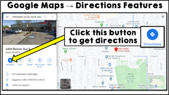 Life Skills Reading and Writing: Using Google Maps and Directions, Unit 2